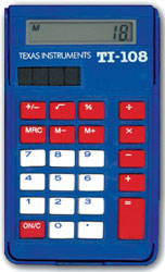 Calculator, Student (TI-108)