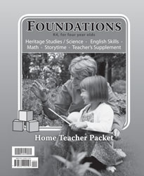 Foundations Home Teacher Packet