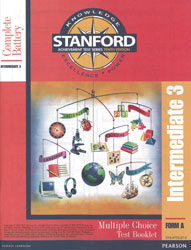 Stanford Grade 6 Spring-Grade 7 Fall (Intermediate 3 test)