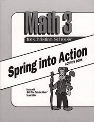 Math 3 Spring into Action Activity Book (consumable)
