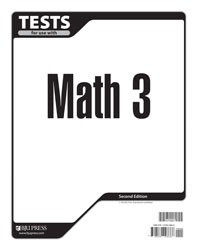 Math 3 Tests (tests only; for 1 student) (2nd ed.)