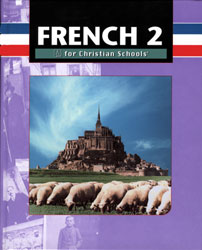 French 2 textbook cover image