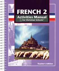 French 2 Student Activities Manual Teacher's Edition