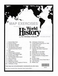 World history map exercises 2nd ed bju press world history map exercises 2nd ed gumiabroncs Gallery