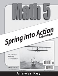 Math 5 Spring into Action Activity Book Answer Key