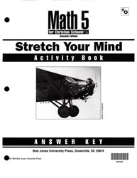 Math 5 Stretch Your Mind Activity Book Answer Key (2nd ed.)