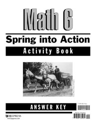 Math 6 Spring into Action Activity Book Answer Key (2nd ed.)