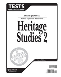 Heritage Studies 2 Tests Answer Key (2nd ed.)