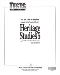 Heritage Studies 5 Tests (5 pk) (2nd ed.)