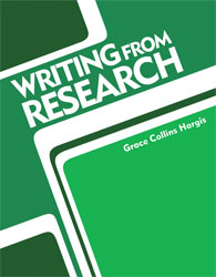 Writing from Research Student Text
