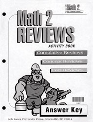 Math 2 Reviews Activity Book Answer Key