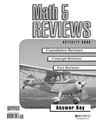 Math 5 Reviews Activity Book Answer Key