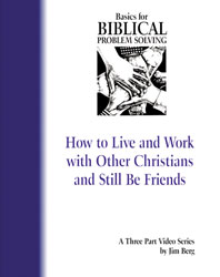 Basics for Biblical Problem Solving [VHS]