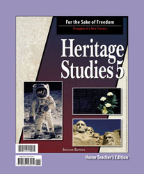 Heritage Studies 5 Home Teacher's Edition
