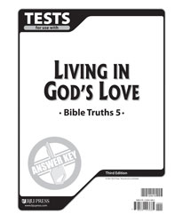 Bible Truths 5 Tests Answer Key (3rd ed.)