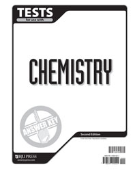 Chemistry Tests Answer Key (for use with 2nd ed.)