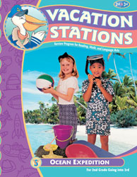Vacation Stations: Ocean Expedition (for rising 3rd graders)