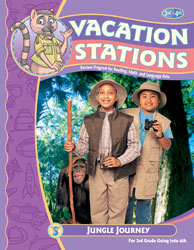Vacation Stations: Jungle Journey (for rising 4th graders)