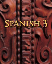 Spanish 3 textbook cover image
