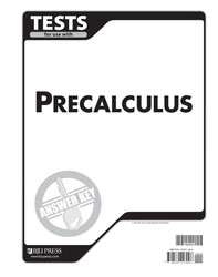 Precalculus Tests Answer Key (1st ed.)