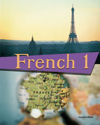 cover image of French 1  Student text