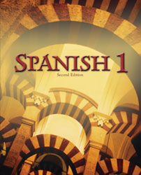 Spanish 1 textbook cover image