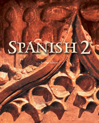 Spanish 2 textbook cover image