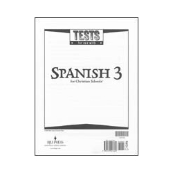 Spanish 3 Tests (5 pk) (2nd ed.)