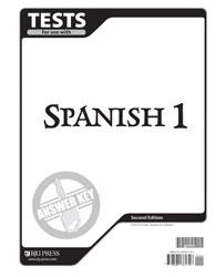 Spanish 1 tests answer key 2nd ed bju press spanish 1 tests answer key 2nd ed fandeluxe Choice Image