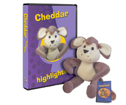 Cheddar Highlights [DVD and Toy]