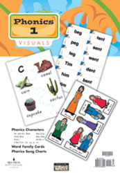 Phonics 1 Teacher's Visual Packet (3rd ed.)