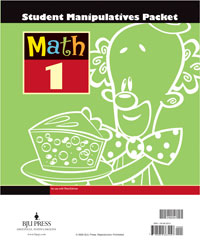 Math 1 Student Manipulatives (3rd ed.)