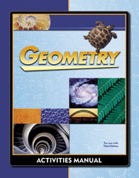 Geometry Student Activities Manual (3rd ed.)