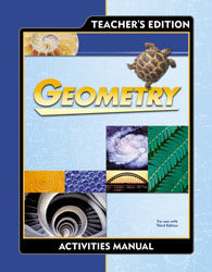 Geometry Student Activities Manual Teacher's Edition (3rd ed.)