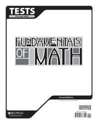 Fundamentals of Math Tests (2nd ed.)