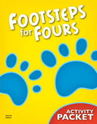 K4 Footsteps for Fours Student Activity Packet (2nd ed.)