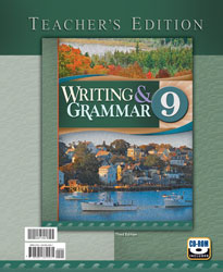 Writing & Grammar 9 Teacher's Edition with CD (3rd ed.)