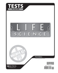 Life Science Tests Answer Key 3rd Ed Bju Press