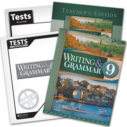 Writing & Grammar 9 Subject Kit
