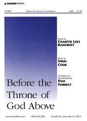 Before the Throne of God Above (SATB—medium)