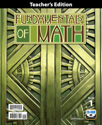 Fundamentals of Math Teacher's Edition with CD (2nd ed., 2 vols.)