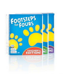 K4 Footsteps for Fours Teacher's Edition with CD (2nd ed.)