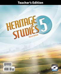 Heritage Studies 5 Teacher's Edition with CD (3rd ed.)