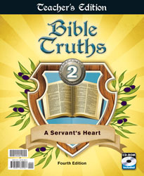 Bible Truths 2 Teacher's Edition with CD (4th ed.)