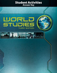 World Studies Student Activities Manual Teacher's Edition (3rd ed.)