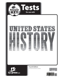 United States History Tests Answer Key (4th ed.)