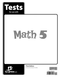 Math 5 Tests (3rd ed.)