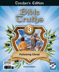 Bible Truths 3 Teacher's Edition with CD (4th ed.)