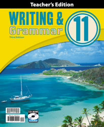 Writing & Grammar 11 Teacher's Edition with CD (3rd ed.)