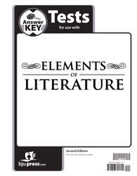 Elements of Literature Tests Answer Key (2nd ed.)